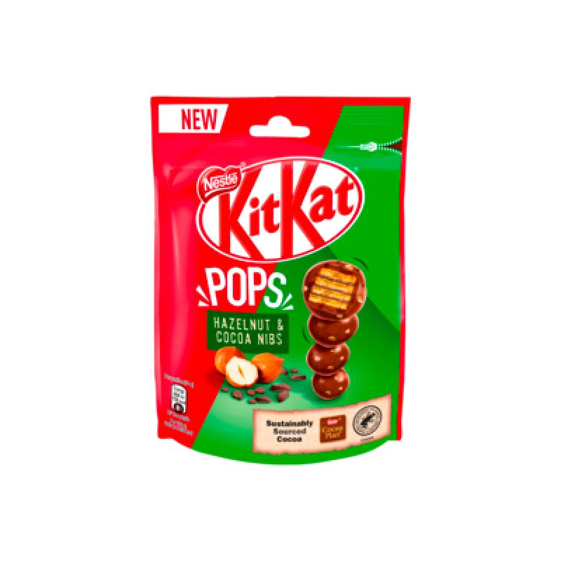 Kit Kat Pops noisette et éclats de cacao - Produits américains - Mr Sweet
