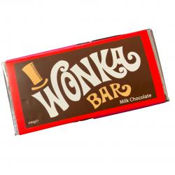 Tablette de chocolat Wonka