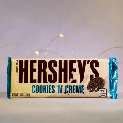 Hershey's Cookies N'Creme - Produit américain de Mr Sweet