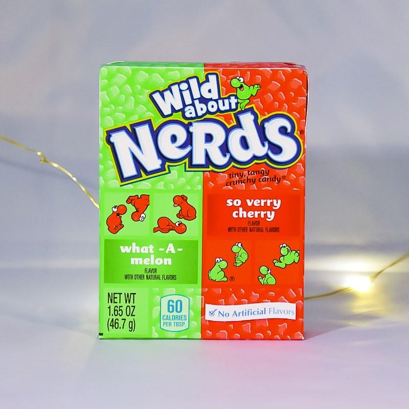 Nerds Bigoûts Melon & Cerise - Willy Wonka - Mr Sweet