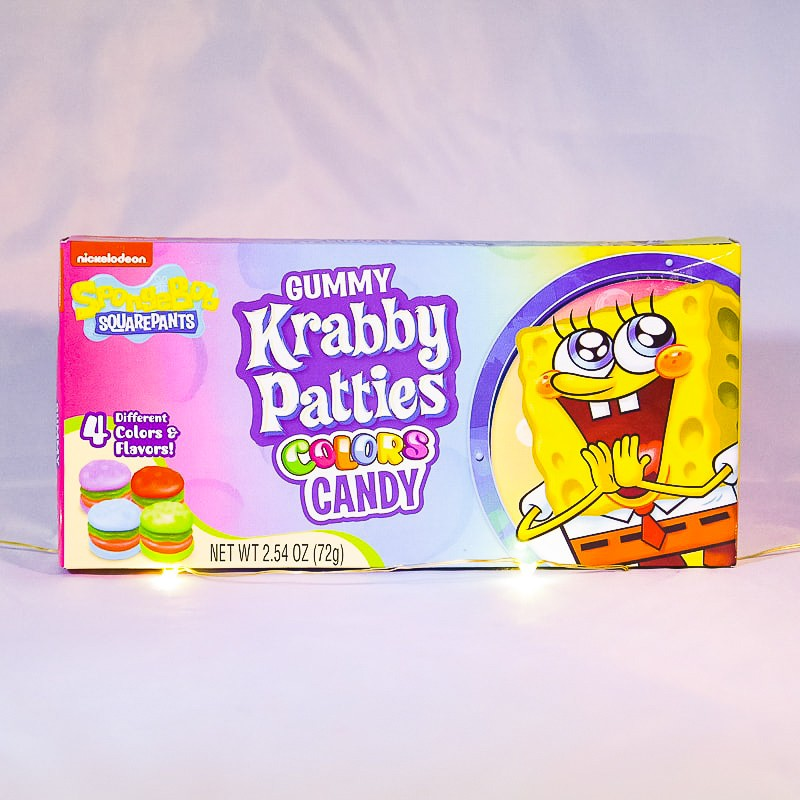 SpongeBob Gummy Krabby Patty - Bonbons -  Mr Sweet
