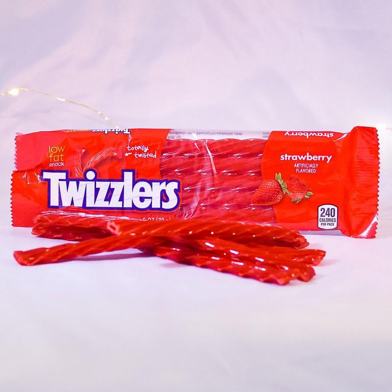 Twizzlers - Bonbons à la fraise - Mr Sweet