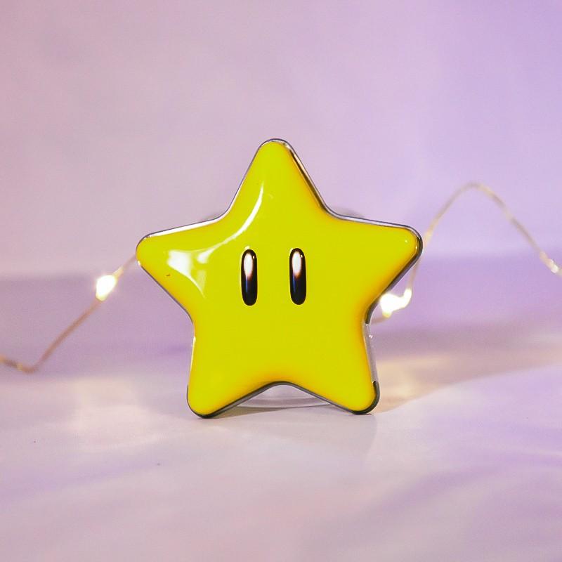 Boîte collector Mario étoile - Bonbons à la menthe - Mr Sweet