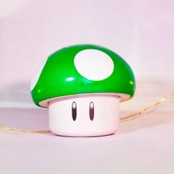 Boîte collector Mario champignon vert - Idées cadeaux Mr Sweet