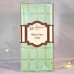 Tablette de chocolat menthe et pépites chocolat noir - Mr Sweet