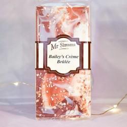 Tablette de chocolat façon Crème brulée Baileys - Mr Sweet