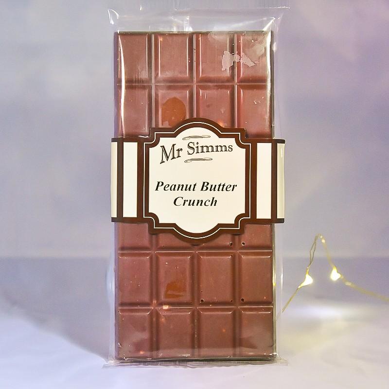 Tablette de chocolat et beurre de cacahuète - Chocolat Mr Sweet