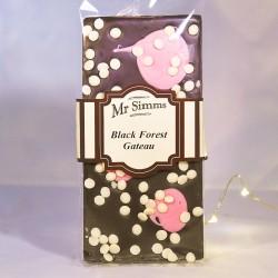 Tablette de chocolat façon forêt noire - Chocolat Mr Sweet
