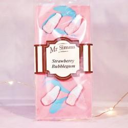 Tablette de chocolat Fraise Bubblegum - Chocolat Mr Sweet