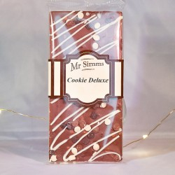 Tablette de chocolat cookie deluxe - Chocolat Mr Sweet