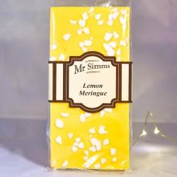 Tablette de chocolat citron meringué - Chocolat blanc - Mr Sweet