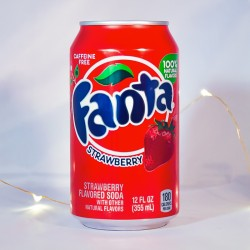 Fanta Fraise - Sodas américains - Mr Sweet
