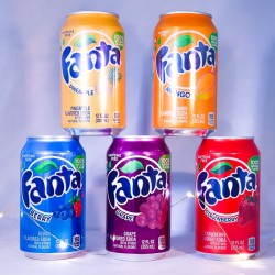 Pack 5 Fanta US - Sodas américains - Mr Sweet