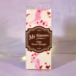 Mini tablette chocolat blanc frais et crème-Mr Sweet
