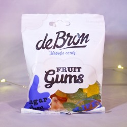 Assortiment gommes aux fruits sans sucre- Mr Sweet
