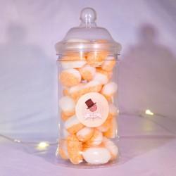 Bonbons pèche & crème anglaise - Mr Sweet