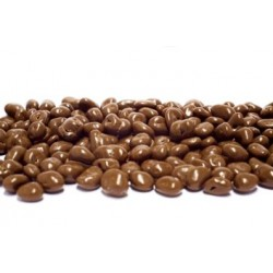 Raisins enrobés de chocolat...