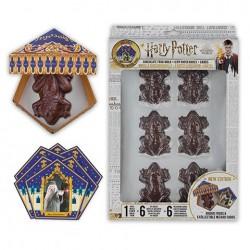 Moule à Chocogrenouilles Harry Potter avec cartes et boîtes - Mr Sweet