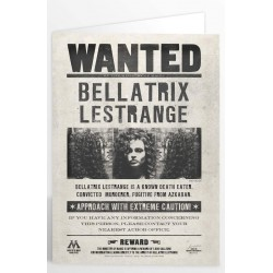 Carte de voeux 3D Bellatrix Lestrange - Mr Sweet