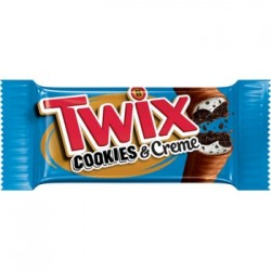 Twix cookies and cream (Oreo) - Chocolats - Mr Sweet